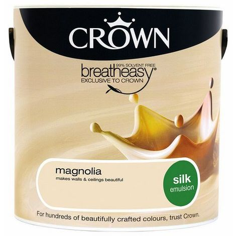 Crown Magnolia 2.5L Silk Emulsion