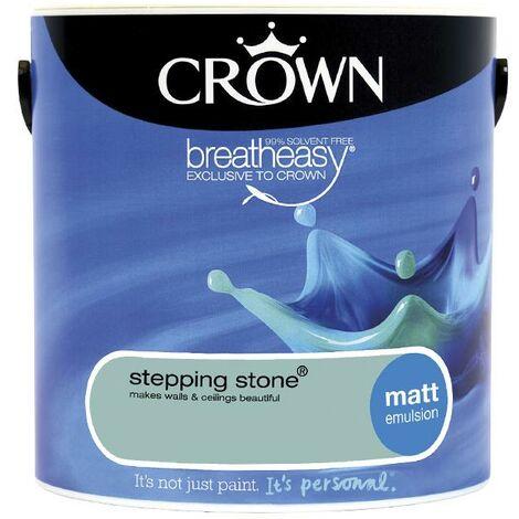 Crown Matt Breatheasy Solvent Free - Stepping Stone - 2.5L
