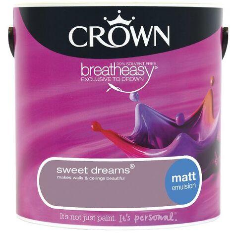 Crown Matt Breatheasy Solvent Free - Sweet Dreams - 2.5L
