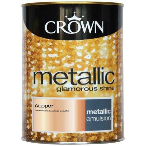 Crown Metallic Glamorous Shine - Copper - 1.25L