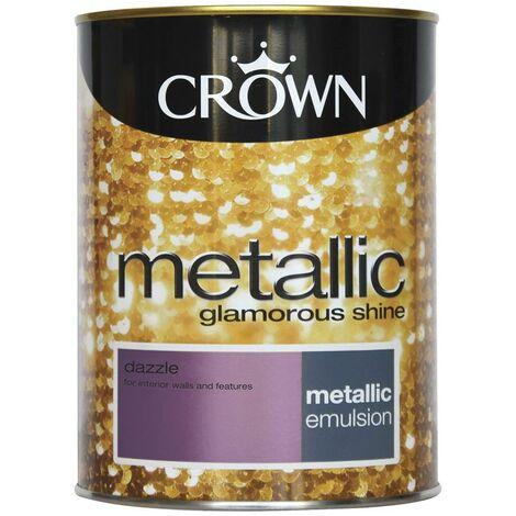Crown Metallic Glamorous Shine - Dazzle - 1.25L