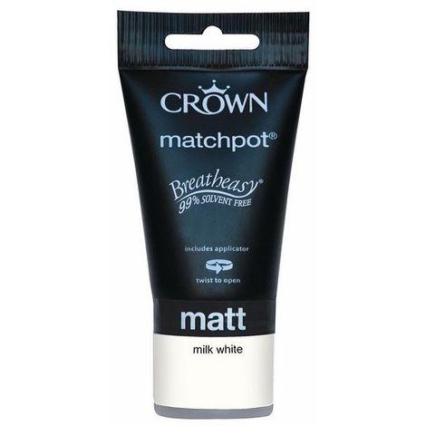 Crown Milk White 40ml Tester