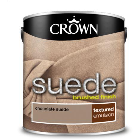 Crown Paint Chocolate Suede Emulsion 2.5L