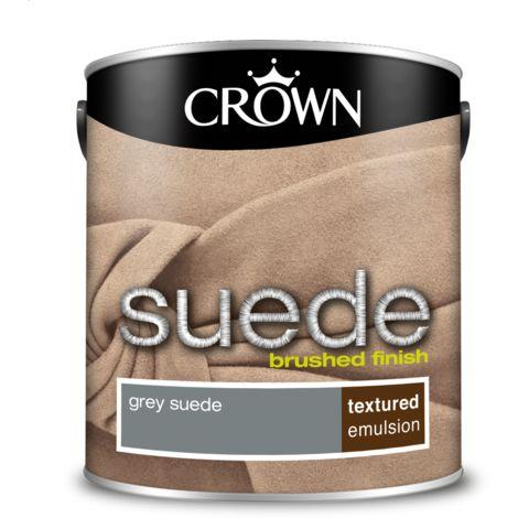 Crown Paint Grey Suede Emulsion 2.5L
