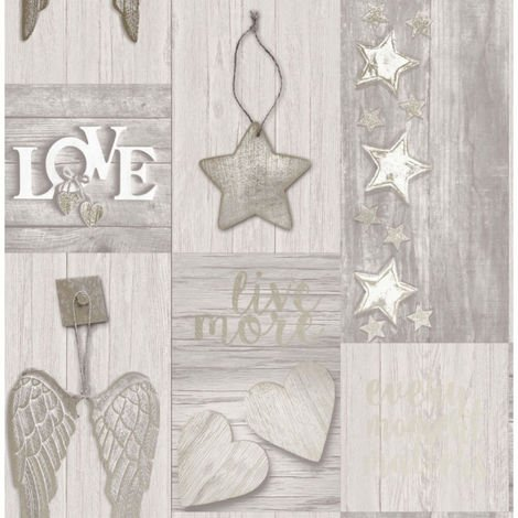 Crown Wallcoverings Starlight Gold M1489