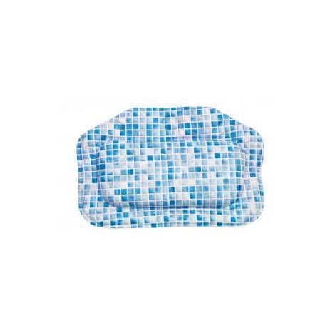 Croydex Blue Mosaic Bath Pillow