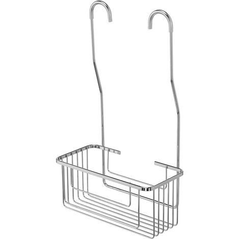Croydex Chrome Shower Basket Storage Hang Hook On Mixer Valve Caddy QM262941