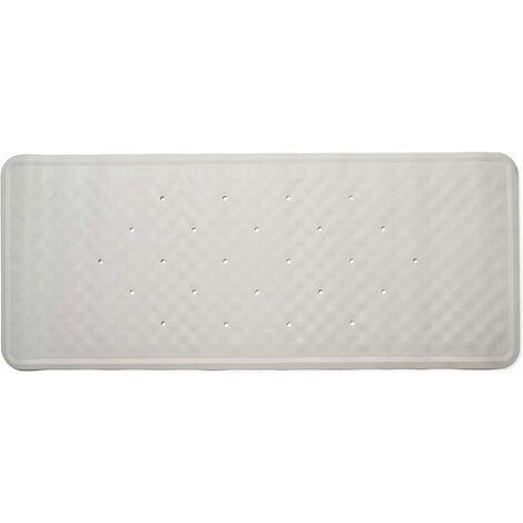 Croydex Large Rubagrip Bath Mat, White