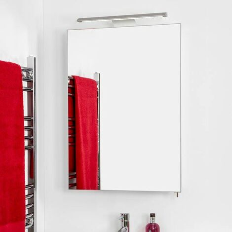 Croydex Madison Bathroom Illuminated Mirror Cabinet Modern