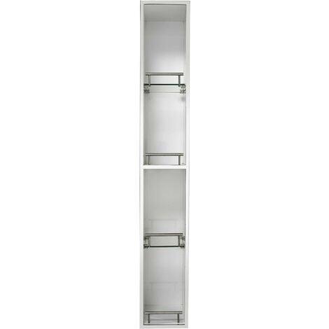 Croydex Ottawa 120 cm Tall Spinning Bathroom Cabinet