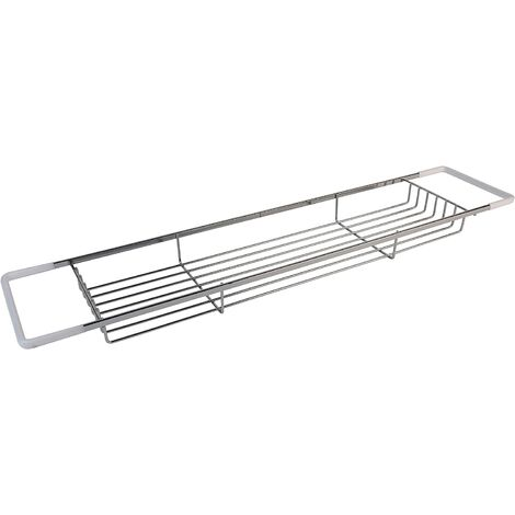 Croydex Rust Free Bath Rack Shelf, Chrome