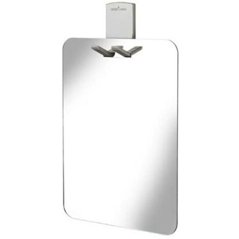 "main image of ""Croydex Shower Shaving Mirror With Razor Holder Easy Install Anti-Fog AJ401841"""