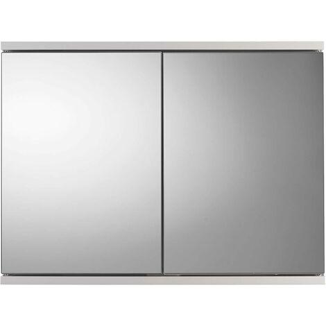 Croydex Simplicity Double Door Bathroom Cabinet, White