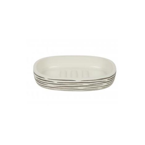 Croydex Stripes Bathroom Accessory Soap Dish