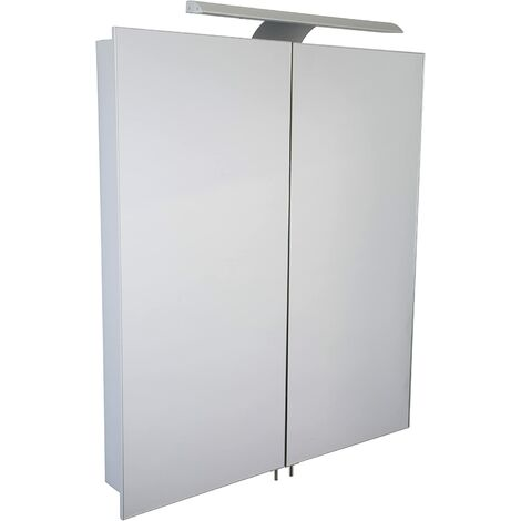 "main image of ""Croydex Sudbury Hang 'n' Lock Illuminated Cabinet"""