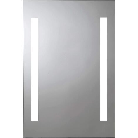 Croydex Thornton 60 x 40cm Battery Operated Illuminated Bathroom Mirror