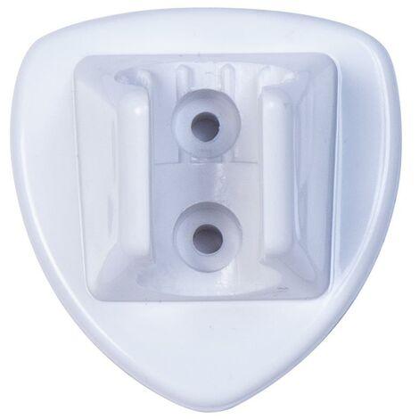 Croydex Universal White Shower Head Handset Bracket Wall Mounted AM251222