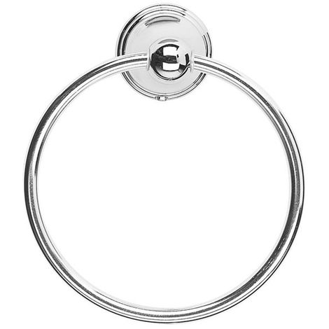 Croydex Westminster Towel Ring 180 X 160 X 60mm Durable Zinc Concealed Fixings