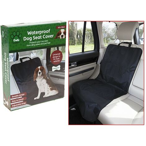 Crufts Waterproof Single Seat Cover