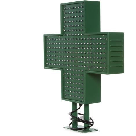 Cruz de Farmacia LED 500x500mm Verde IP65 Control Remoto (LI-SG-500x500)