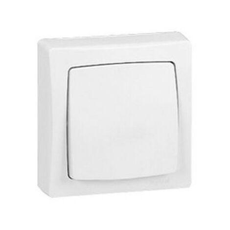 Cruzamiento de superficie monobloc blanco Legrand Oteo 086004