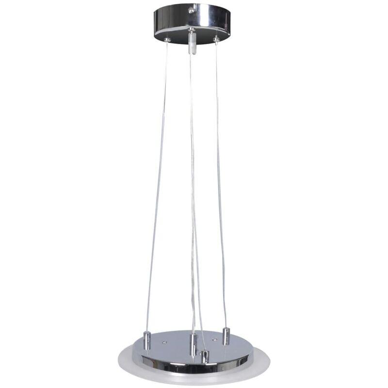 Image of Crymble 6-Light Geometric LED Pendant by Ivy Bronx - White