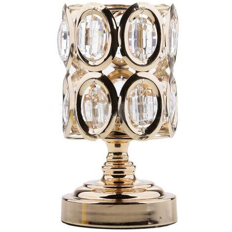 Crystal Glass Candle Holder Tealight Candlestick Votive Wedding Centerpiece New