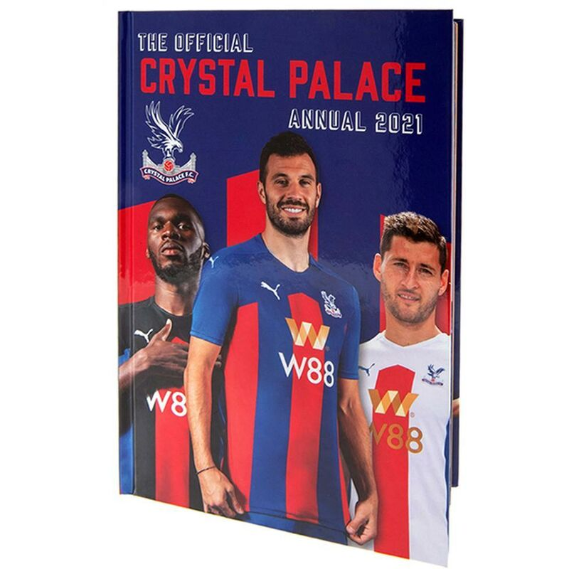 Image of Crystal Palace FC 2021 Annual (One Size) (Blue/Red)