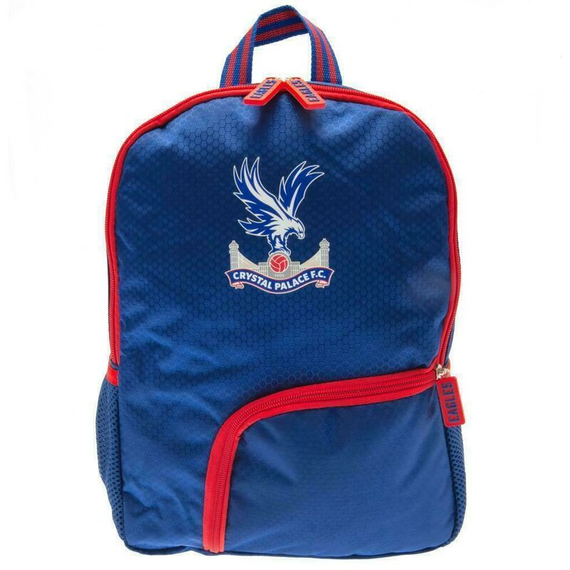 Image of Childrens/Kids Backpack (One Size) (Royal Blue/Red/White) - Crystal Palace Fc