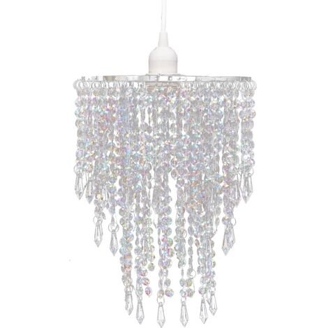 Crystal Pendant Chandelier 22,5 x 30,5 cm - Transparent