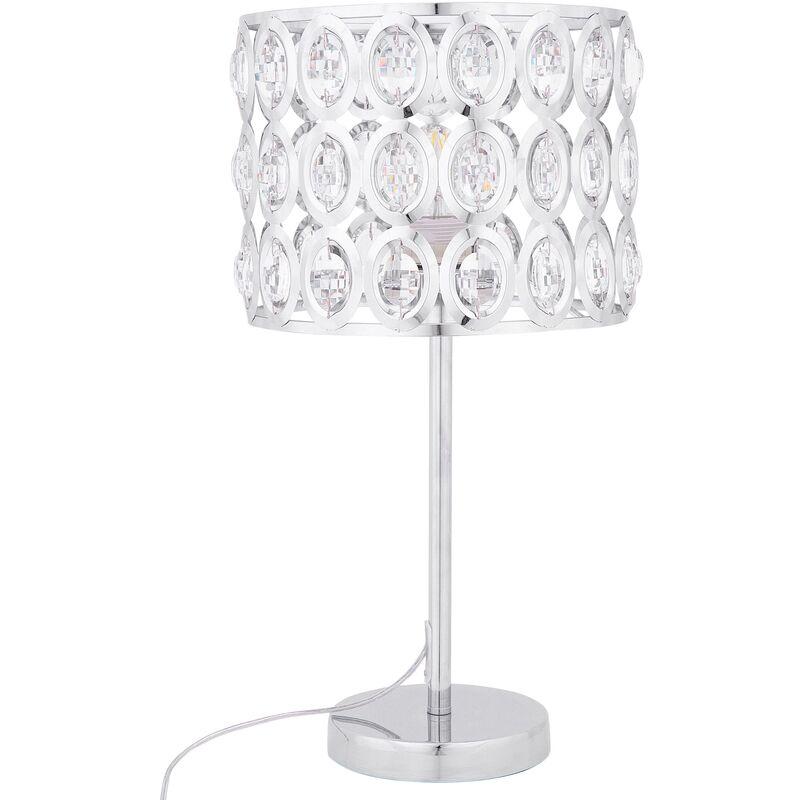 pretty nice bbfa6 83720 Crystal Table Lamp TENNA