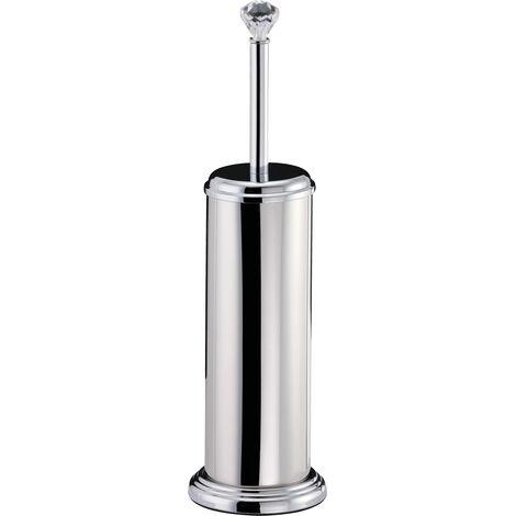 Crystalle F/S Toilet Brush & Holder