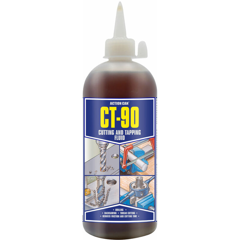 Image of 1483 CT-90 Cutting & Tapping Fluid 500ml Poly Bottle/Spout - Action Can