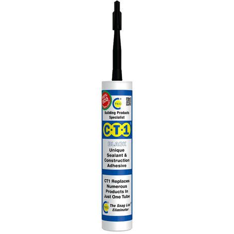 CT1 Sealant & Construction Adhesive Black 290ml
