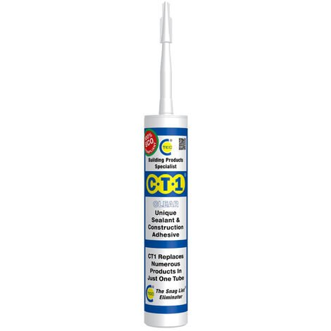 CT1 Sealant & Construction Adhesive Clear 290ml