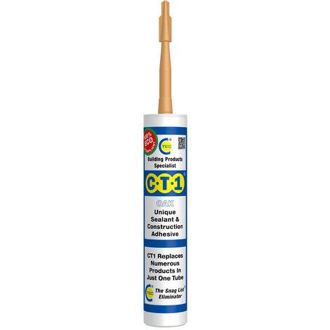 CT1 Sealant & Construction Adhesive Oak 290ml