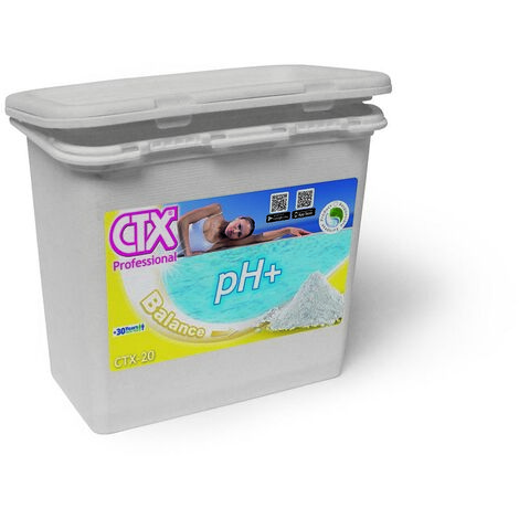 CTX-20 Incrementador pH granulado 6Kg