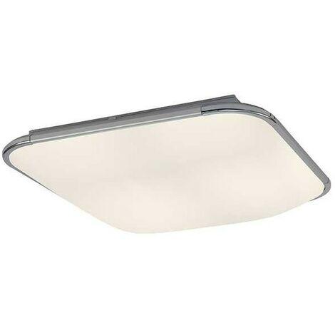 Plafon led cuadrado blanco FASE de Mantra para cocina