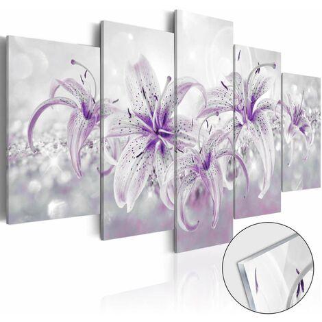 Cuadro acrílico - Purple Graces [Glass]