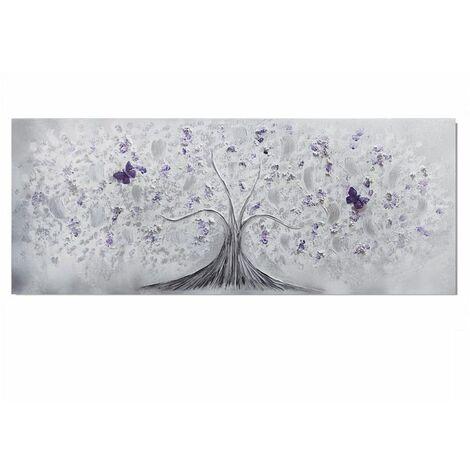 Cuadro artesanal Árbol Mariposa