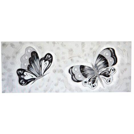 Cuadro artesano Mariposas