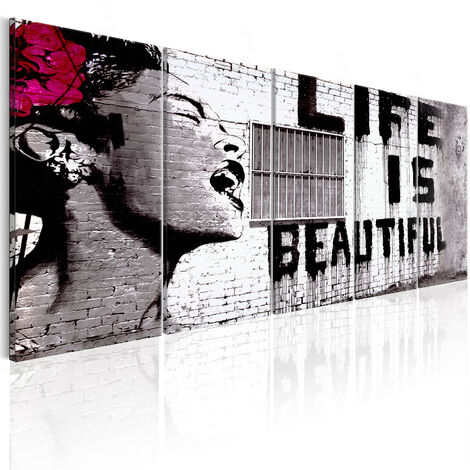 Cuadro - Banksy: Life is Beautiful - 225x90