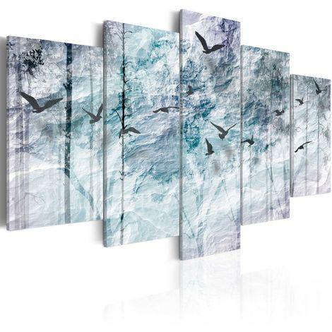 Cuadro Bosque azul cm 200x100 Artgeist A1-N3933-DKX