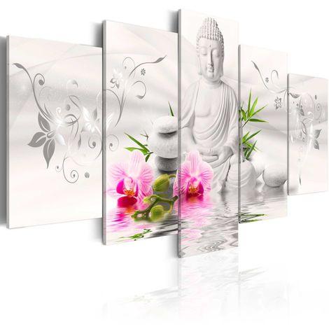 Cuadro Buda de perla cm 200x100 Artgeist