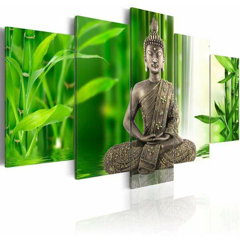 Cuadro - Buda meditando