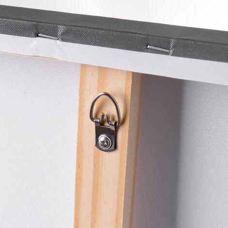 Cuadro cabecero de paisaje de lienzo fotoimpreso de 150x50 cm