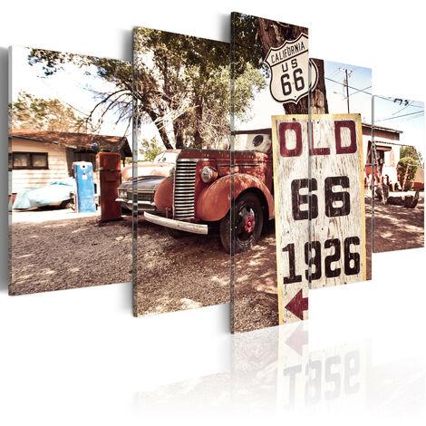 Cuadro - California - vintage style - 100x50