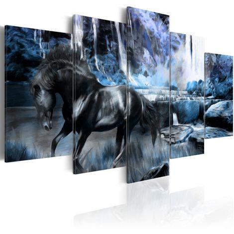 Cuadro Cascada azul celeste cm 200x100 Artgeist A1-N1667-DKX
