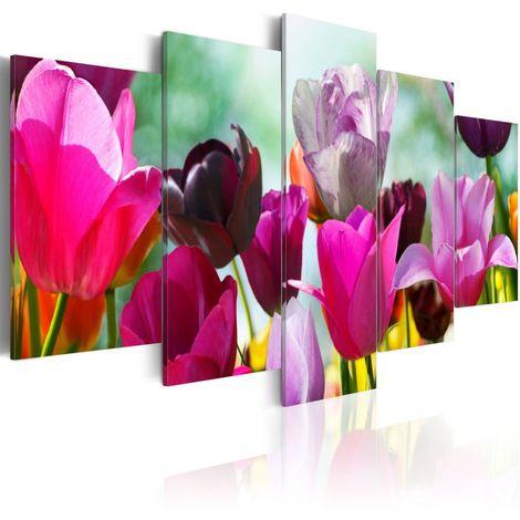 Cuadro Color rosa y alegría cm 100x50 Artgeist A1-N1418