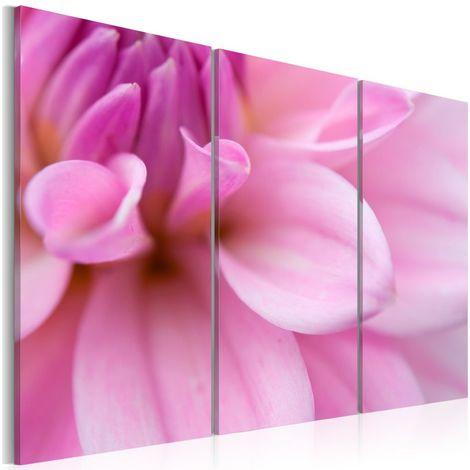 Cuadro Dahlia de color rosa cm 60x40 Artgeist A1-N1601